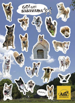 StickerSasayamaDogs